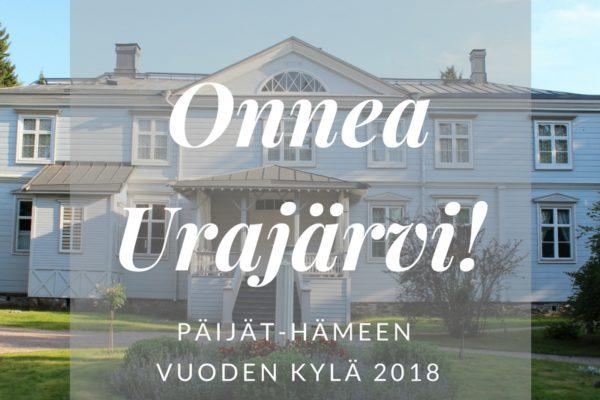 Urajärvi Päijät-Hämeen Vuoden Kylä 2018