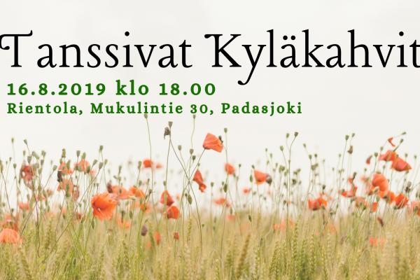 Tanssivat Kyläkahvit 16.8.2019